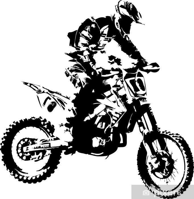 mx rider Vinyl Wall Mural - Wall decals