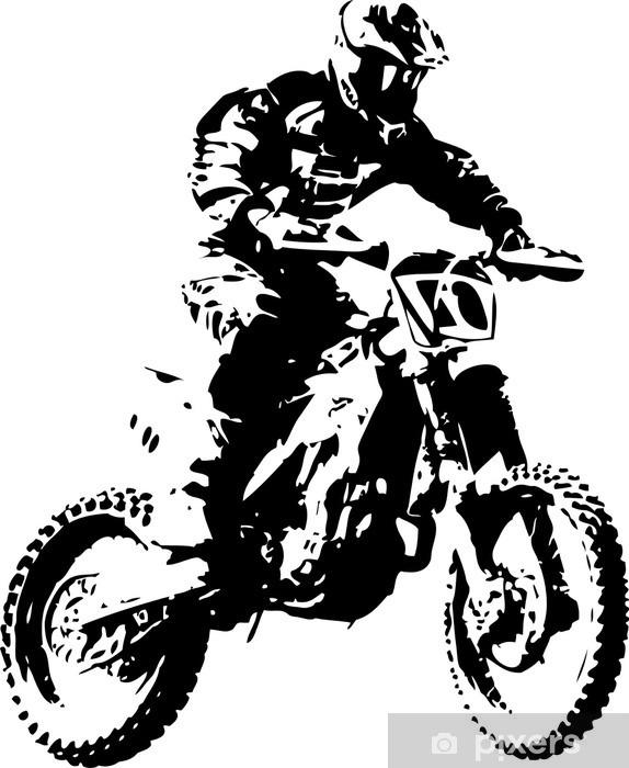 mx rider Pixerstick Sticker - Wall decals