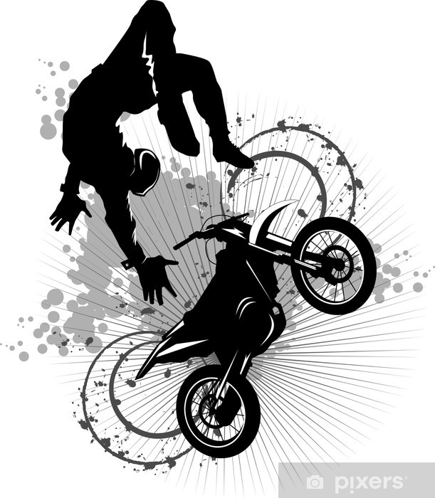 moto attraction Vinyl Wall Mural - Extreme Sports