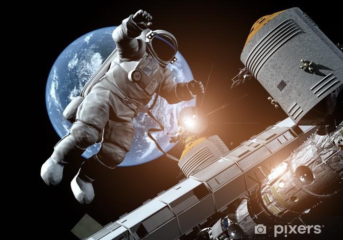 Vinyl Fotobehang De astronaut - Thema's