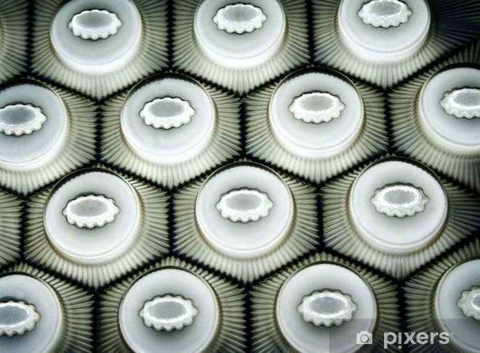 Fototapeta winylowa Plastikowe sześciokąty 2 - Surowce