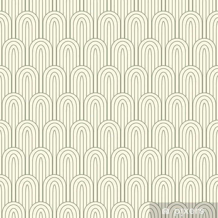 striped pattern in art nuvo Self-Adhesive Wall Mural - Backgrounds