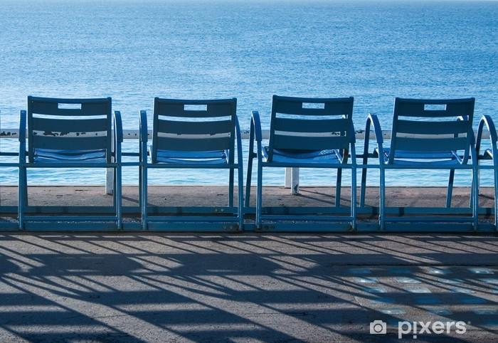Sedie Blu Nizza : Adesivo sedie blu a nizza francia u pixers viviamo per il