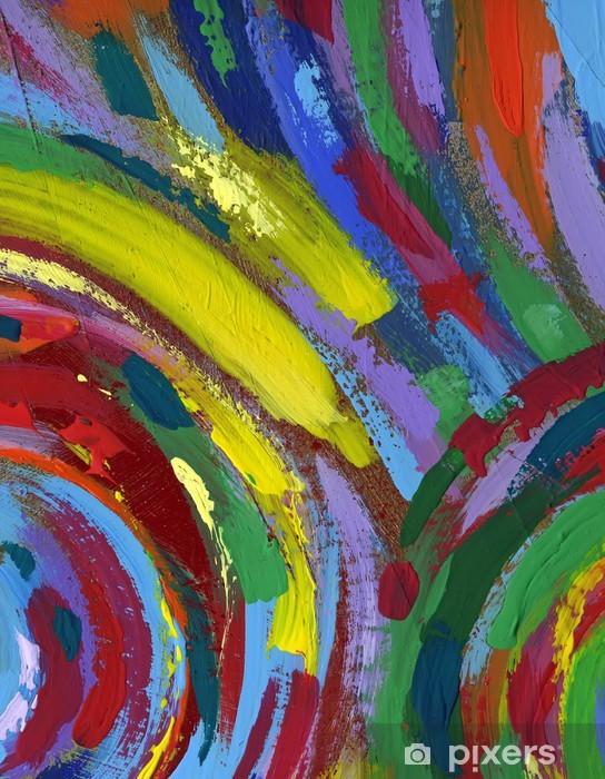 Papier Peint Peinture Acrylique Abstrait Texture De Fond Pixers