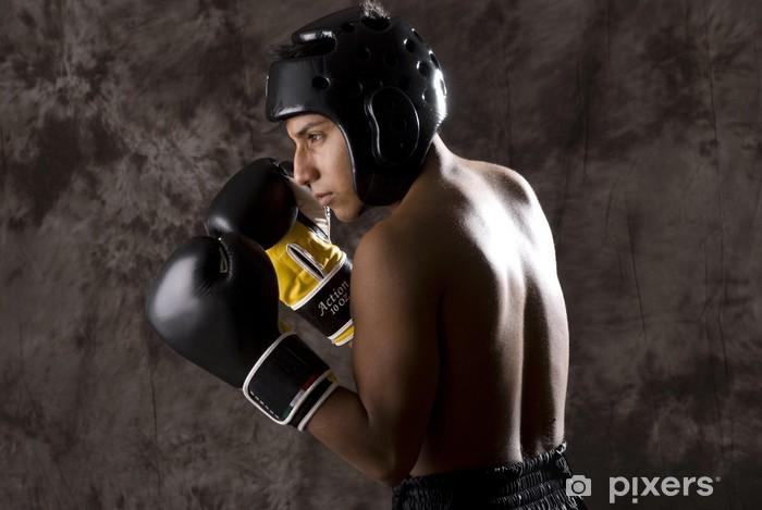 Kick Boxing Pixerstick Sticker - Themes