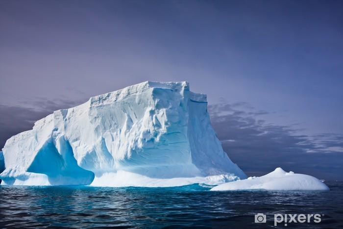 Nálepka Pixerstick Antarktický ledovec - Voda