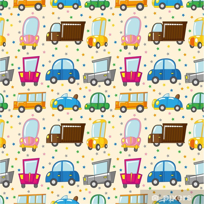 Poster Modèle de voiture sans soudure - Pour enfant 5 ans