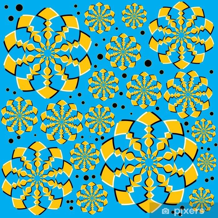 Poster Orange Twirlers (Motion Illusion) - Hintergründe