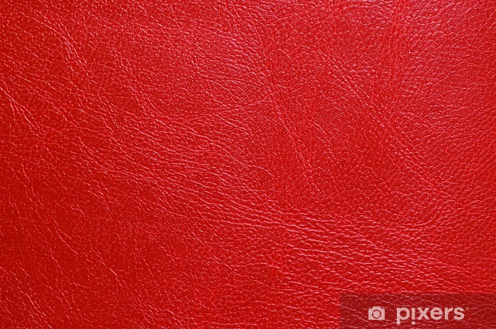 red leatherette texture Vinyl Wall Mural - Textures