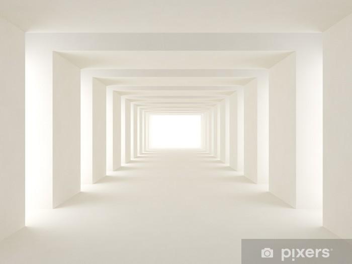 Vinyl-Fototapete Tunnel aus Licht - Themen