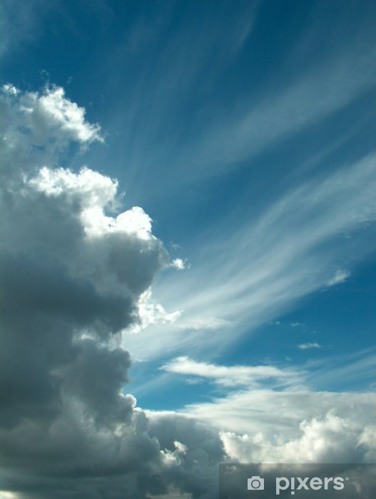 Naklejka Pixerstick Chmura - Niebo