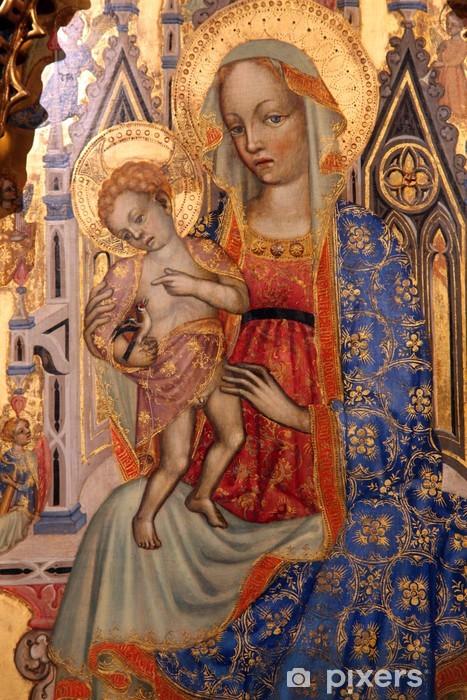 Naklejka Pixerstick Madonna z Dzieciątkiem - Tematy