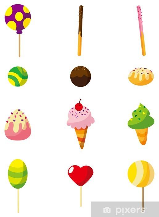 Papier Peint Bonbons De Dessin Animé