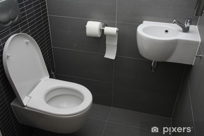 Fototapete Moderne Toilette • Pixers® - Wir leben, um zu verändern