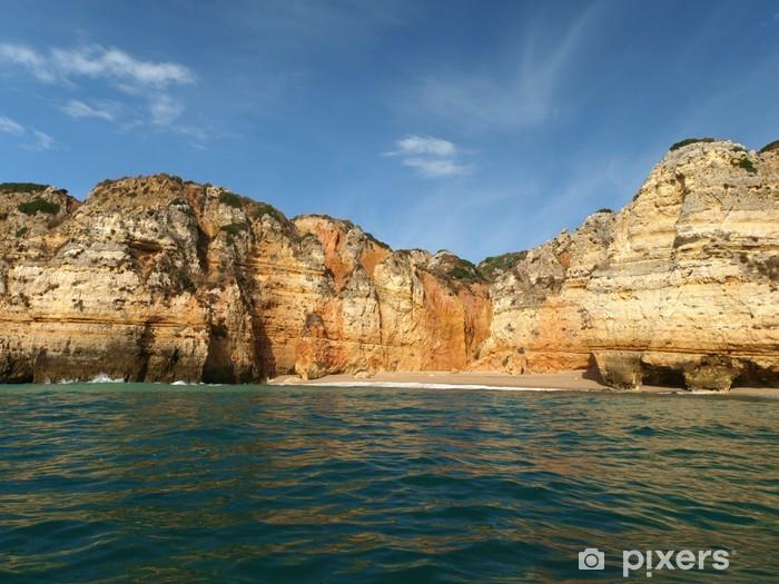 Vinylová fototapeta Malebné Algarve pobřeží mezi Lagos a Cap Vincent - Vinylová fototapeta
