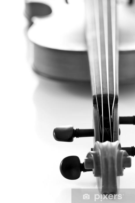 Sticker Pixerstick Geige - Musique
