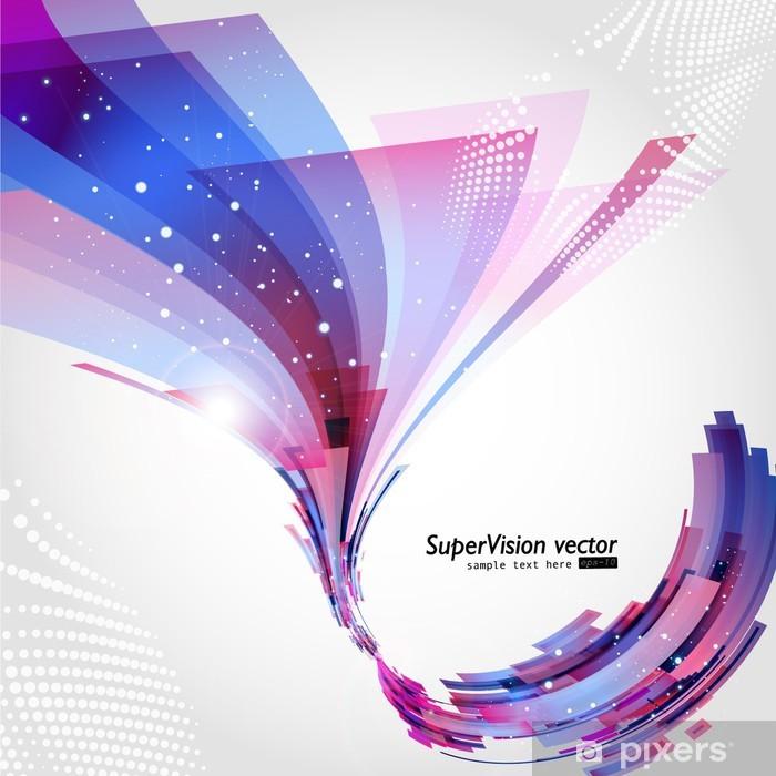 Vinilo Pixerstick Vector de fondo abstracto - Fondos