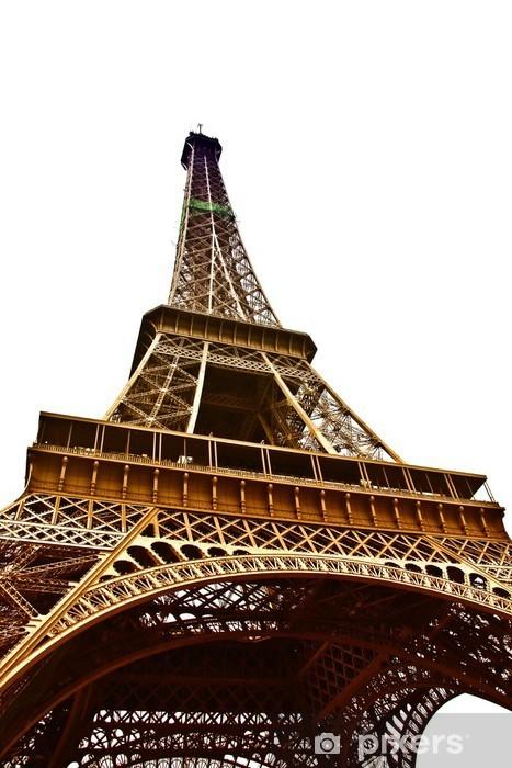 Vinyl-Fototapete Eiffel Tower, Paris, Frankreich - Europäische Städte