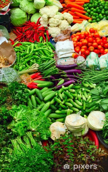 Papier peint vinyle Bourse - Légumes