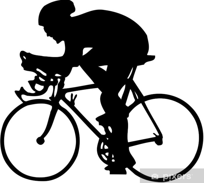 Plakat Cycler - Sporty na świeżym powietrzu