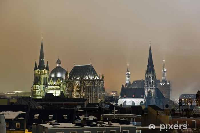Naklejka Pixerstick Aachen - Pejzaż miejski