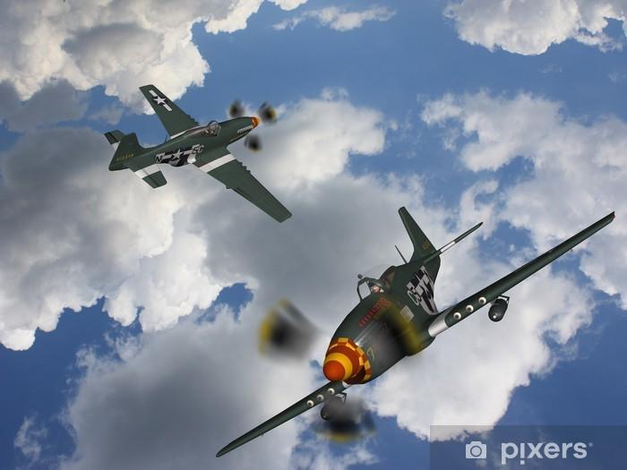 Naklejka Pixerstick Military Aircraft Bomber - Tematy