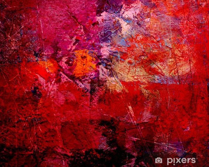 Vinyl Fotobehang Schilderij textures - Kunst en Creatie