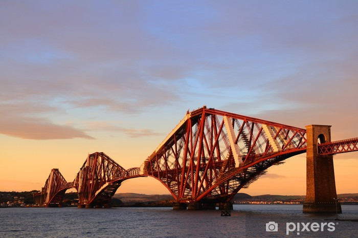 Fototapeta winylowa Forth Rail Bridge - Tematy