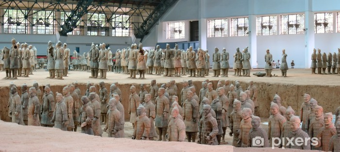 Fototapeta winylowa Wojownicy z terakoty armii, Zian, porcelana, panorama - Miasta azjatyckie