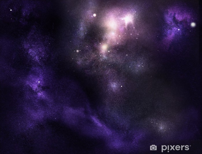 Papier peint vinyle Cosmos profondes - Espace