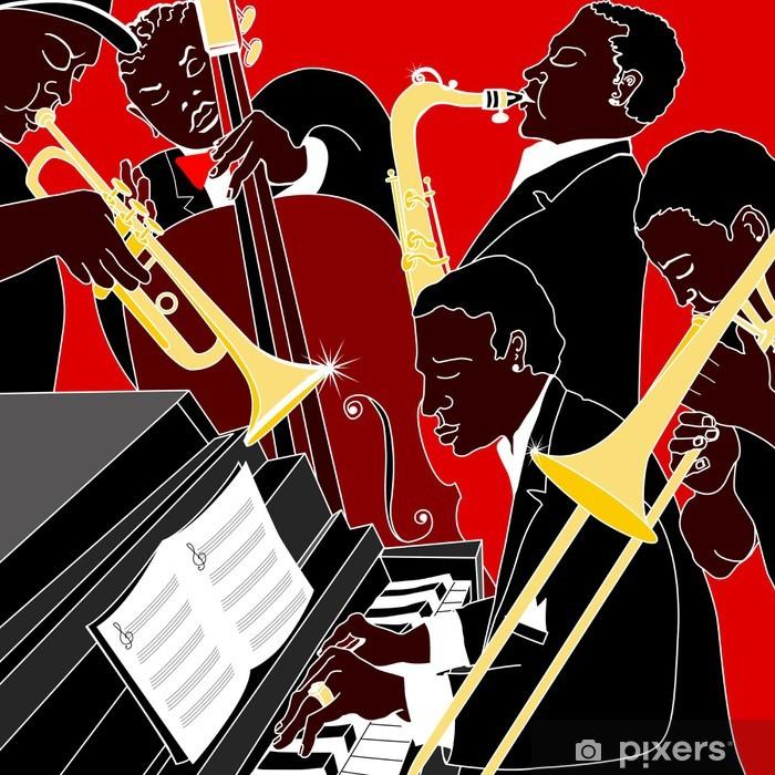 jazz band Vinyl Wall Mural - Jazz