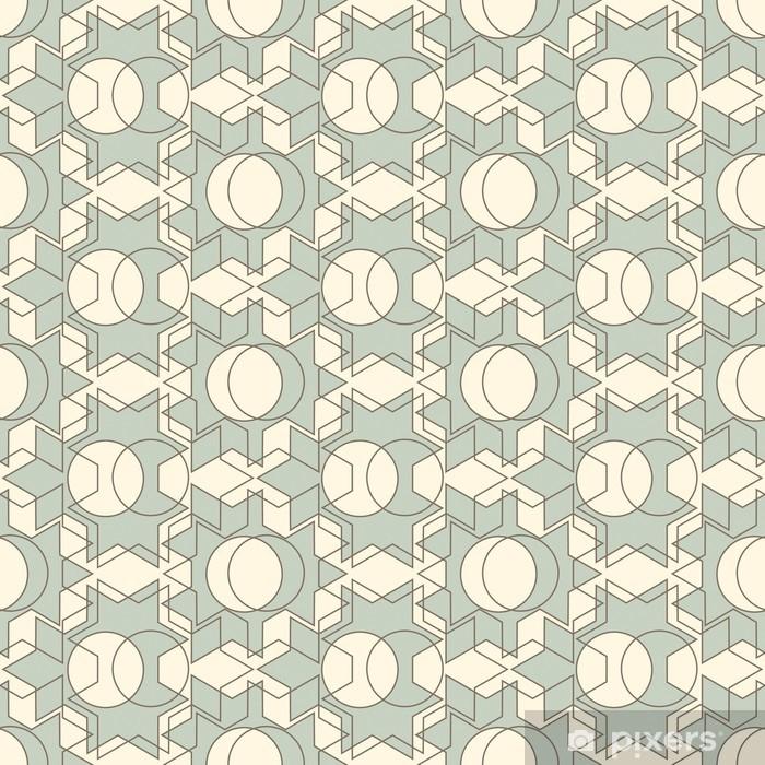 lattice pattern Window & Glass Sticker - Themes