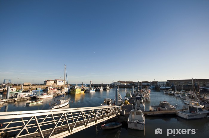 Fotomural Estándar Puerto pesquero de La Cotiniere - Infraestructuras