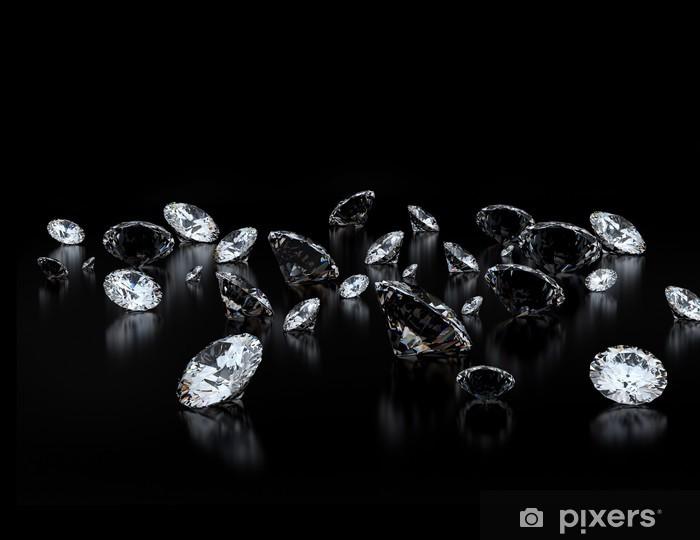 Naklejka Pixerstick Diamenty - Przemysł ciężki