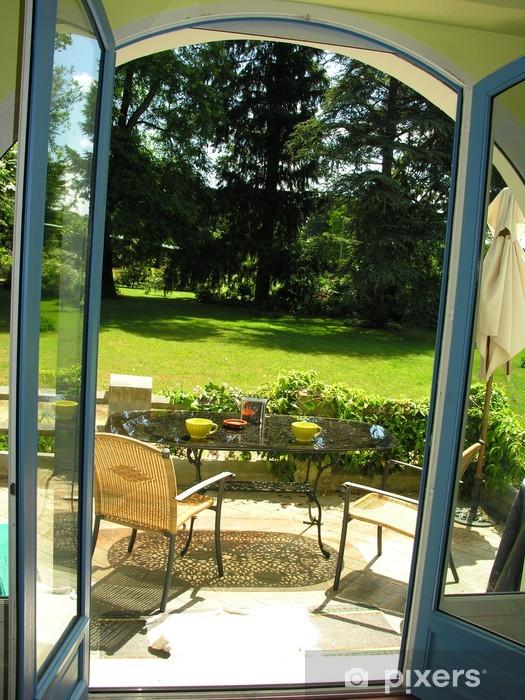 Fototapete Fenster Garten Pixers Wir Leben Um Zu Verändern