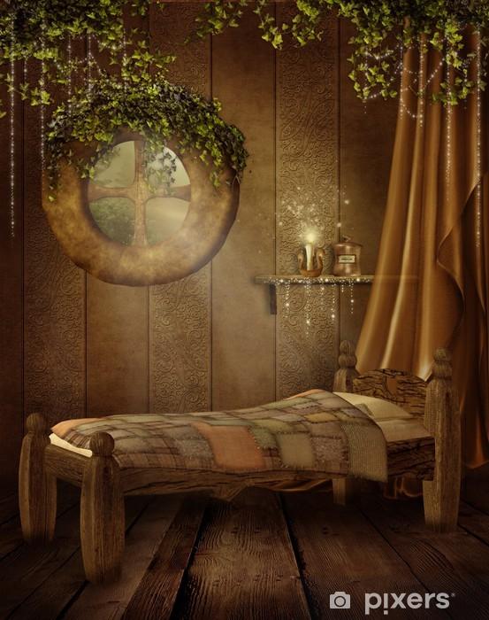 Carta da Parati Camera da letto retrò per bambini • Pixers ...