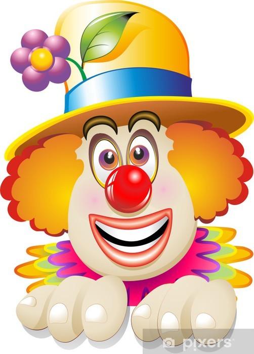 Carta Da Parati Pagliaccio Faccia Maschera Carnival Clowns Face