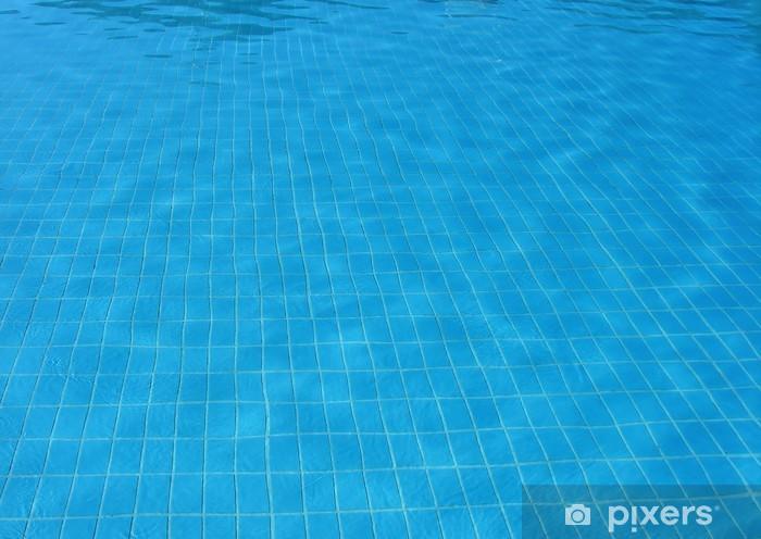 Carta Da Parati Fondo E Acqua Nella Piscina Blu Trasparente Sfondo