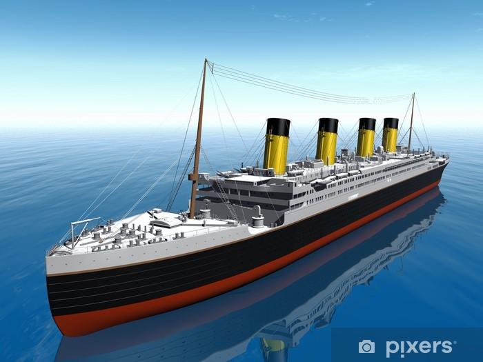 Fototapeta winylowa My Titanic - Tematy