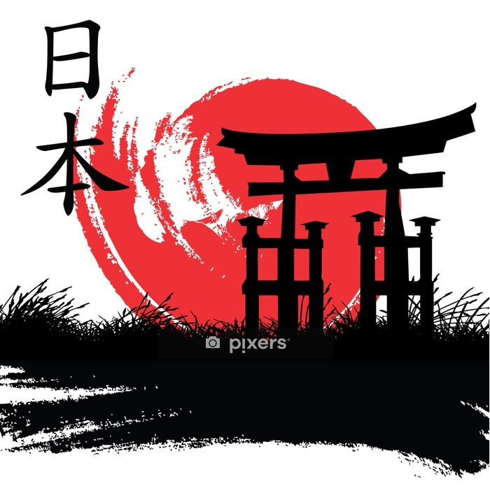 japanese style Wall Decal - Wall decals