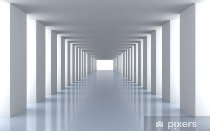Fototapeta winylowa Tunnel białe światło - Tematy