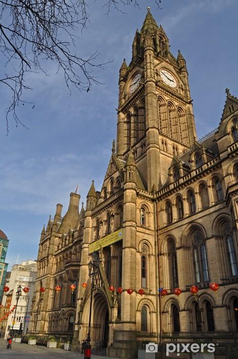 Fototapeta winylowa Manchester Town Hall w Wielkiej Brytanii - Europa