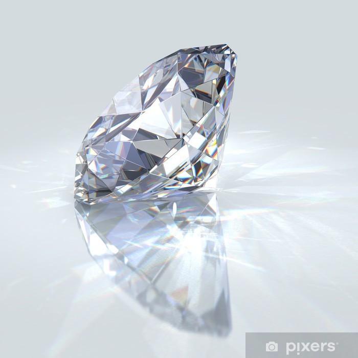 Naklejka Pixerstick Klejnot romb - Sukces i osiągnięcia