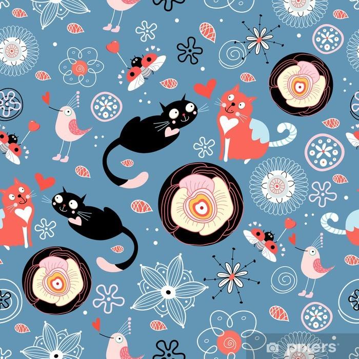 Plakat Koty miłość tekstury - Ssaki