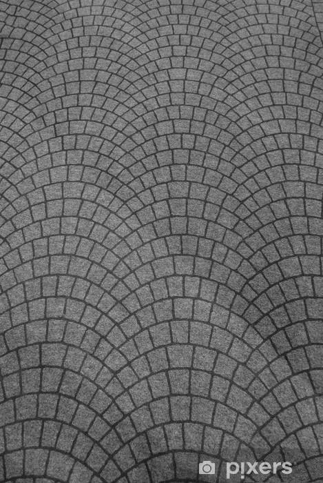 Nálepka Pixerstick Porfyrové kostky - Struktury