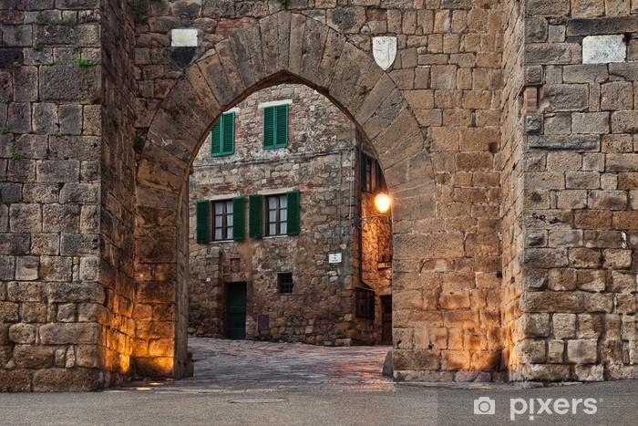 Old castle Montepulciano Vinyl Wall Mural - Europe