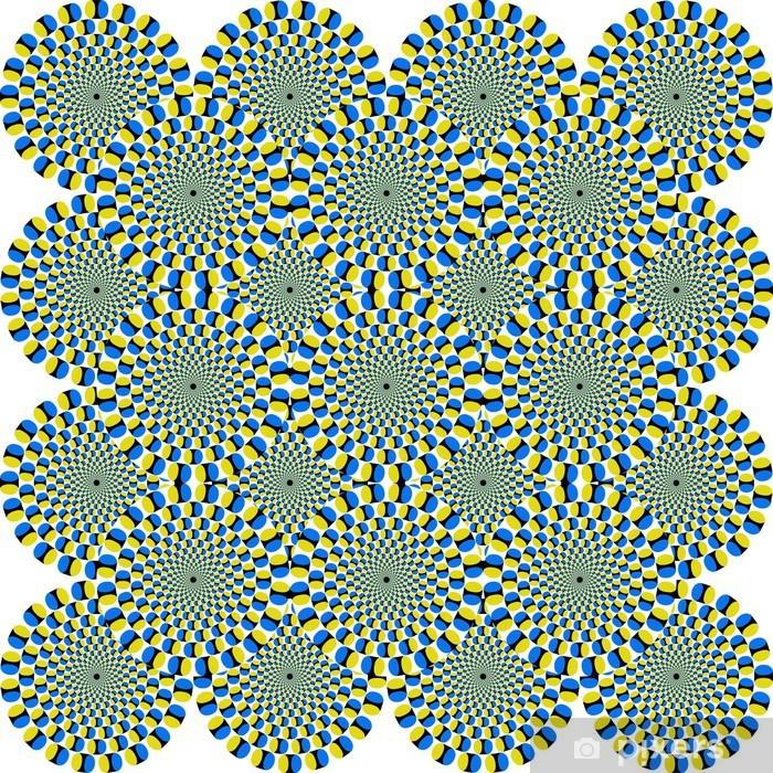 Plakat Optische Täuschung - Optical Illusion - Tematy