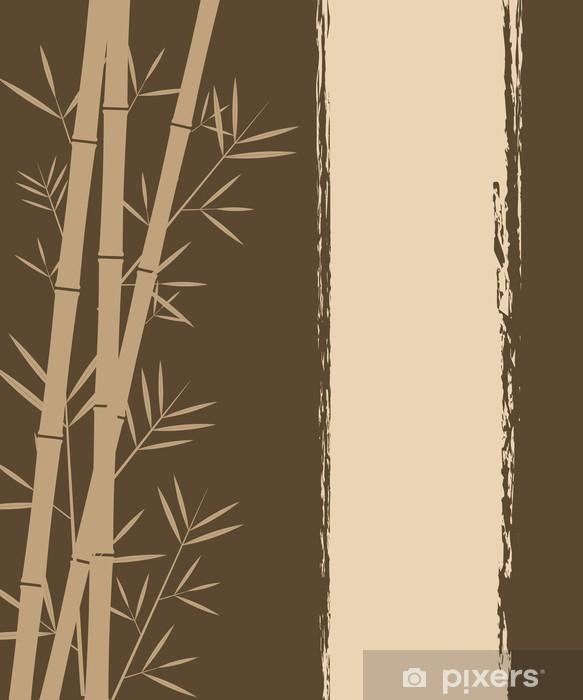 Fototapeta winylowa Bamboo wektor backgorund - Uroda i pielęgnacja ciała