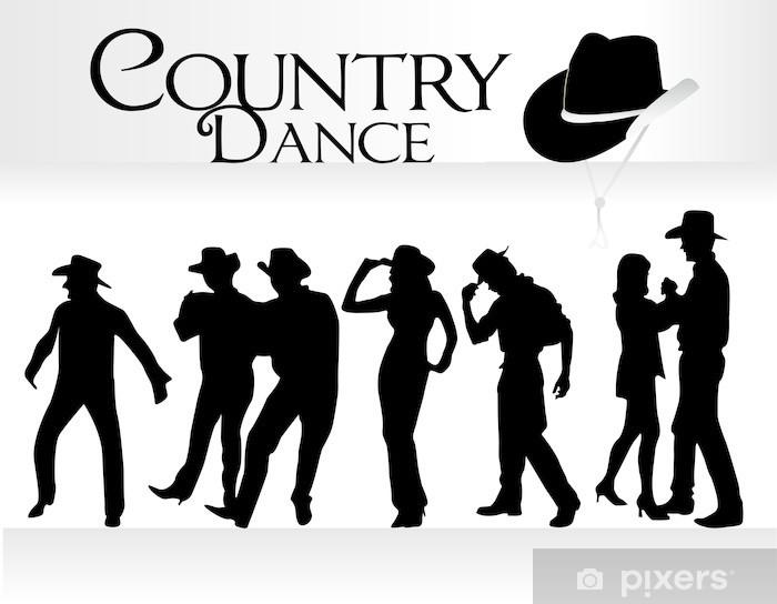Zelfklevend Fotobehang Countrydans - Andere Gevoelens