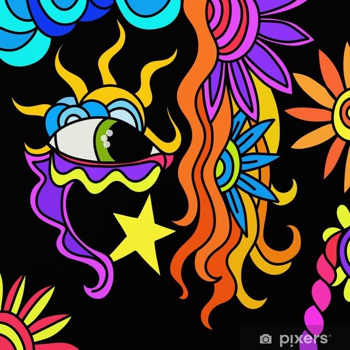 Poster Carnaval abstrait - Divertissements